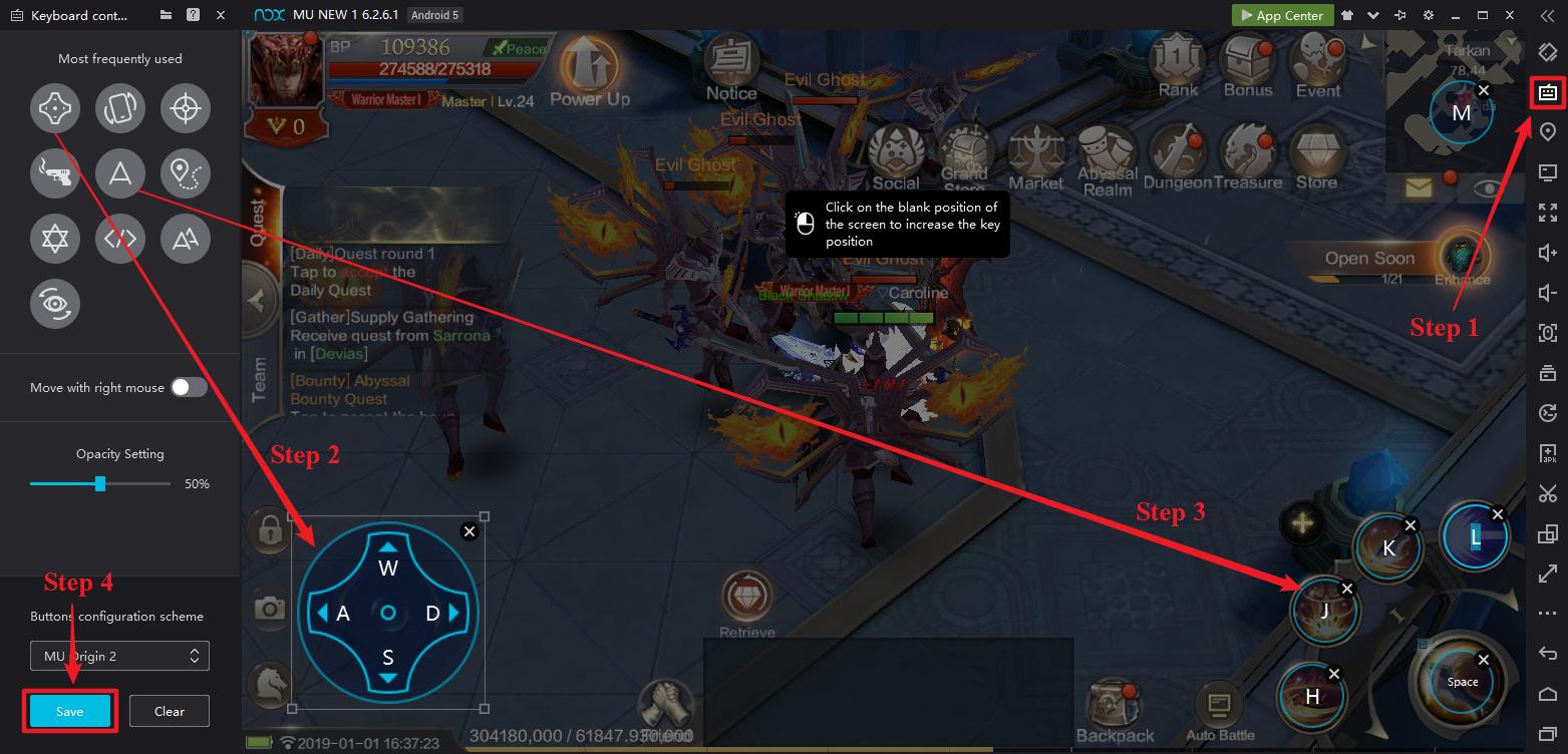 เล่น MU Origin 2 บน PC สัมผัสสเน่ห์แท้จริงของเกม | NoxPlayer